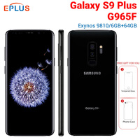 New Global Version Samsung Galaxy s9+ S9 Plus G965F 6GB 64GB Mobile Phone 4G LTE 6.2 Dual Rear 12MP Fingerprint NFC SmartPhone