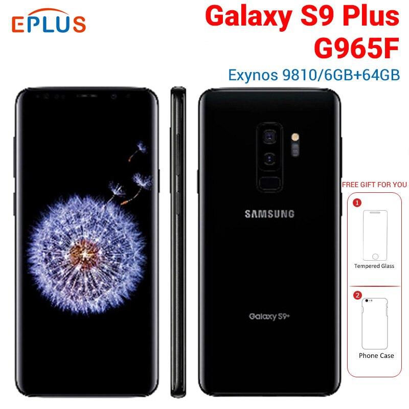 Nueva versión Global Samsung Galaxy s9 + S9 más G965F 6GB 64GB teléfono móvil 4G LTE 6,2