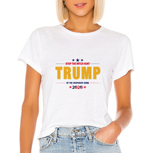 Stop The Witch Hunt Top Tee Vintage USA TRUMP T shirt Graphi