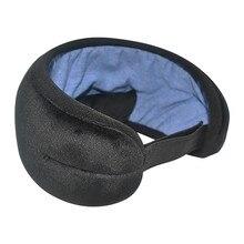 Wireless Stereo Earphone Sleep Soft Sleeping Eye Mask Music Headset Comfortable sleep Earphone 3D St