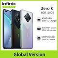 Новая глобальная версия Infinix Zero 8, 8 ГБ, 128 ГБ, смартфон, 6,85 дюйма, FHD, 90 Гц, полноэкранный режим, 64 МП, четырехъядерная камера, 4500 мАч, аккумулятор,...
