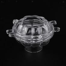 3D мини форма тыквы свечи пластиковые формы DIY ремесла плесень для украшения дома ручной работы свечи мыло формы