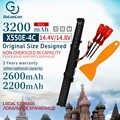 3200mAh 14.8V بطارية كمبيوتر محمول A41-X550E ل ASUS x550e X450 X450J A450V A450 F450 X450E A450J F450E F450JF F450C X751L X751M