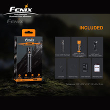 USB Type-C Charging Fenix E28R Rechargeable EDC Flashlight with 3400mAh Li-ion Battery(China)