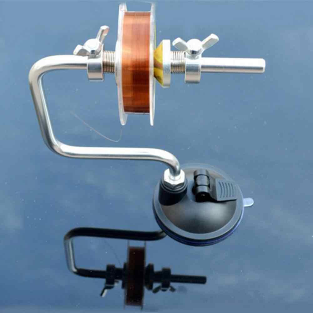 Enrouleur de ligne de pêche en aluminium | Portable, enrouleur de poisson, système de bobine, outil d'outillage, ventouse, carpe de mer, accessoires de pêche, Lin de pêche