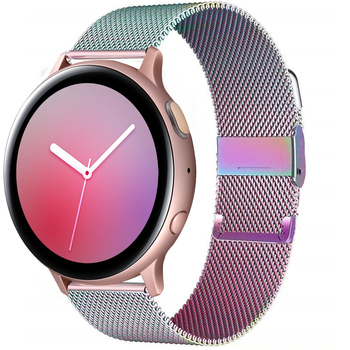 Milanese Loop For Samsung Galaxy watch 3 strap 45mm 41mm/Active 2 46mm/42mm Gear S3 bracelet Huawei GT/2/2e 20mm 22mm watch band 22mm watch strap 20mm band for samsung galaxy watch 46mm 42mm active 2 gear s3 frontier leather watchband for huawei watch gt 2e