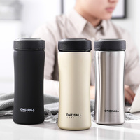 Thermos Bottle 500ML Vacuum Flask 304 Stainless Steel Thermal Mug With Tea Infuser Insulated Thermos Coffee Cup Mugs Car|Vacuum Flasks & Thermoses|Home & Garden -