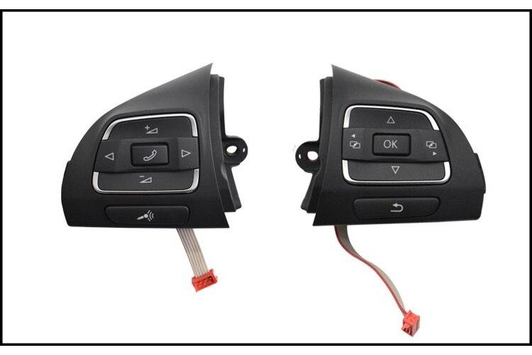 OEM Многофункциональная кнопка рулевого колеса 5C0 959 537 B5C0 959 538B для Jetta MK6 Golf MK6 EOS Tiguan Touran Amarok Caddy