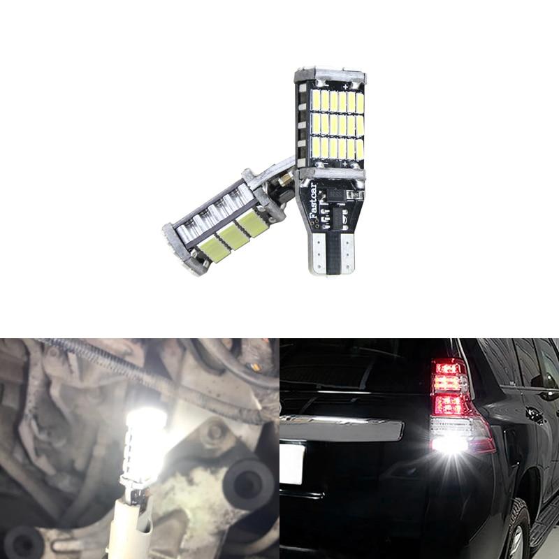 2x Mitsubishi Shogun MK4 Bright Xenon White LED Number Plate Upgrade Light Bulbs