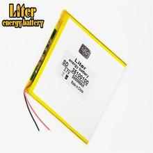 Bonne qualité grande capacité 3.7V 35100100 5000 mah chaque tablette batteries au lithium rechargeables universelles