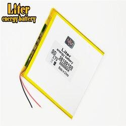 Dobra Qulity duża pojemność 3.7V 35100100 5000 mah każdy tablet uniwersalny akumulator litowy