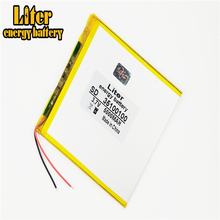 Good Qulity large capacity 3.7V 35100100 5000 mah each tablet universal rechargeable lithium batteries