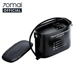 Compresor de aire 12v Original 70mai 12V 70 MAI bomba de aire portátil para coche eléctrico inflador de neumaticos para auto Mini compresor Inflador de neumáticos Auto