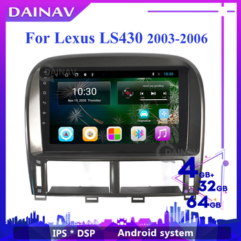 Android Car DVD Player GPS Navigation FOR Lexus Ls430 2000-2006 Car Stereo Autoradio Player HD Screen Tesla Style Head Unit image