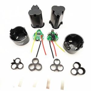 Image 3 - 핸드 드릴 키트 액세서리 전기 스크루 드라이버 3s bms 리튬 이온 12.6V 18650 핸드 전기 드릴 pcb 배터리 보관 케이스 상자