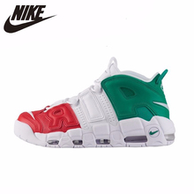 Nike Air More Uptempo 96 Original Men Basketball Shoes Air Cushion Sports Outdoor Sneakers #921948 nike air jordan 4 original men basketball shoes non slippery wear resisting air cushion outdoor sports sneakers 308497