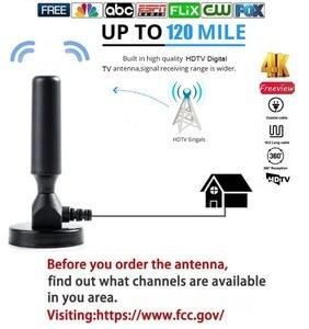 Цифровая HDTV антенна hengshanlao, ТВ-Антенна в помещении с радиусом действия 2000 миль, спутниковая антенна Surf Fox DVB-T/T2