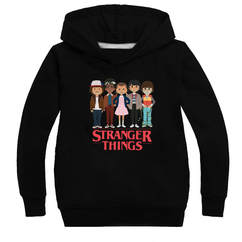 Stranger Things Popular Elements Eleven Hoodies Boys And Girls Hoodies Kids Hoodies Fashion Hoodies
