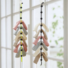 Креативные домашние носки с веревкой, Многофункциональная Корзина для мытья одежды, носки для стирки, носки для сушки носков, вешалка для одежды