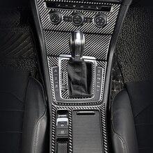 Панель переключения передач автомобиля, переключатель переменного тока, рамка фары, отделка для VW Golf 7 GTI R GTE GTD MK7 2013-2017, аксессуары из углерод...