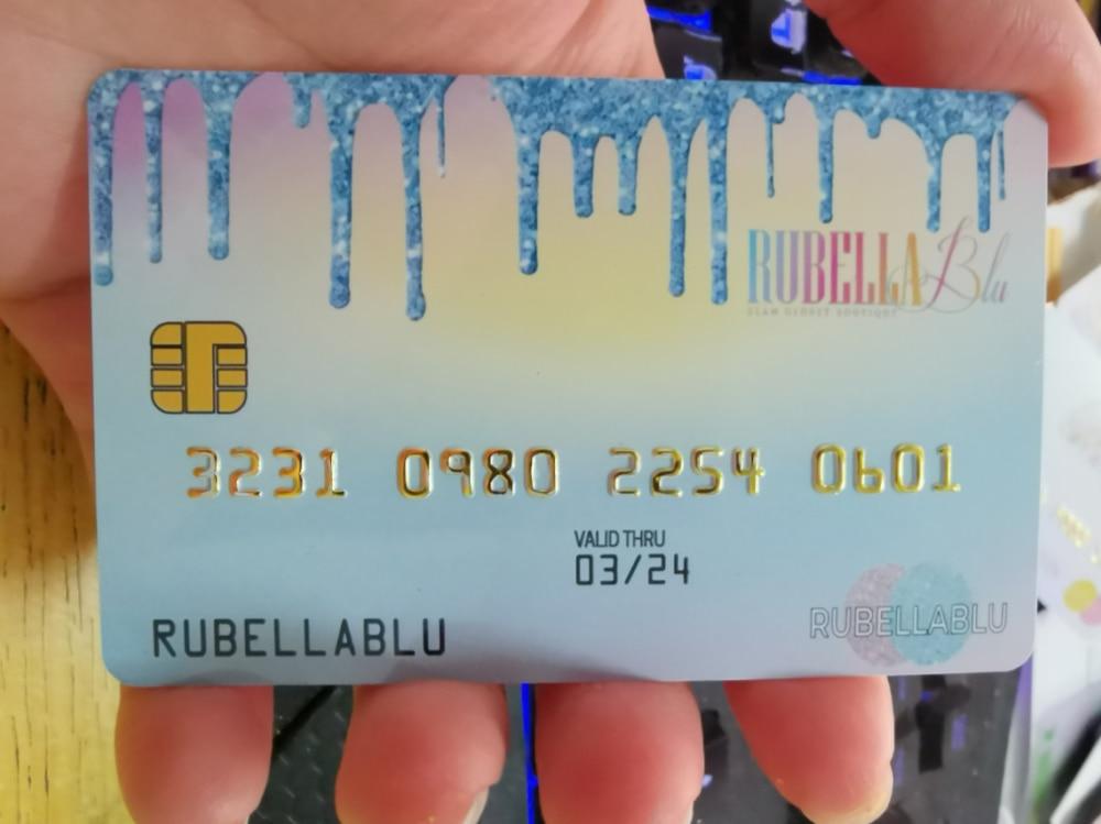 Custom PVC Card VIP & Plastic credit cards Membership Cards Magnetic stripe cards  barcode 128/39  EMBOSS Serial business cards 1