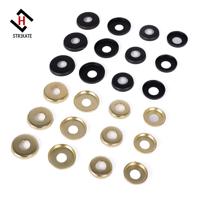 2 pack Skateboard Truck Cup Washer Replacement Kit Upper/Lower Bushing Washers 4 upper and 4 lower bushing cup washers