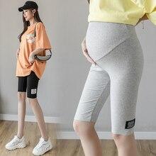 Pencil Legging Pregnancy-Short-Legging Summer for Hot Sport 090 Belly Skinny High-Waist