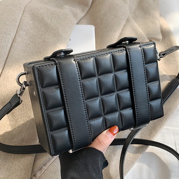 Designer Pu Leather Women Shoulder Bag High Quality Small Crossbody Bags for Women Fashion Ladies Handbags Casual Messenger Bags image