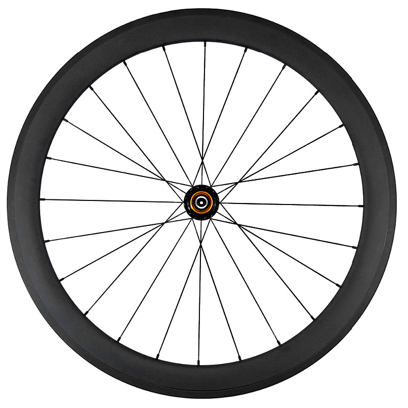SUPER LIGHT 50mm tubular 50T road <font><b>bike</b></font> 11s <font><b>6</b></font> pawl carbon rear <font><b>wheel</b></font> 1420 aero <font><b>spokes</b></font> alloy nipples UD 3K 12K matte glossy 700g image