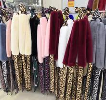 2019 new womens fashion scarf high-quality artificial fur versatile