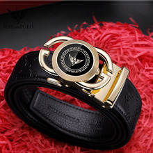 WILLIAMPOLO New mens belts automatically buckle yo