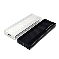 M2 SSD Durumda NVME USB SSD Muhafaza SSD Kutusu M.2 Kutu Adaptörü için USB 3.1 Gen 2 Harici M 2 Kutu için NVME M Anahtar 2230/2242/2260/2280 M2