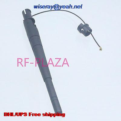 DHL/EMS 100 pcs 2.4G 2.4GHz 3dBi Omni WIFI Antenna with extended cable 13cm IPX/u.fl end with one year warranty-A1 image