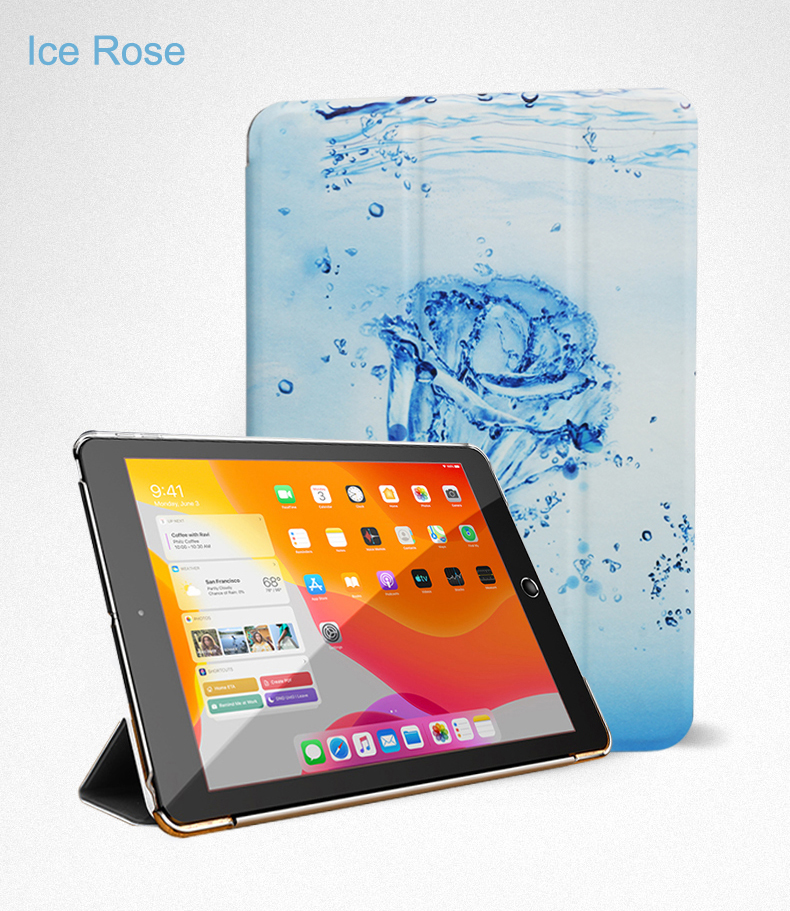 Trifold Flip Wake For Stand 2020 iPad Smart Cover 10.9 Auto PU Case Full Leather Air