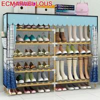 Minimalista zapatero organizador de zapato gabinete mobiliário mobiliário armário scarpiera sapateira meuble chaussure sapatos rack