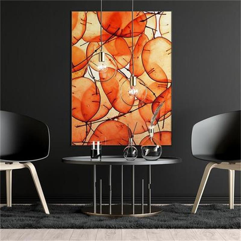 Orange Summer Abstract Artwork Posters Hd Print Wall Art Canvas Painting Modern Bedroom Decoration Picture For Living Room Painting Calligraphy Aliexpress