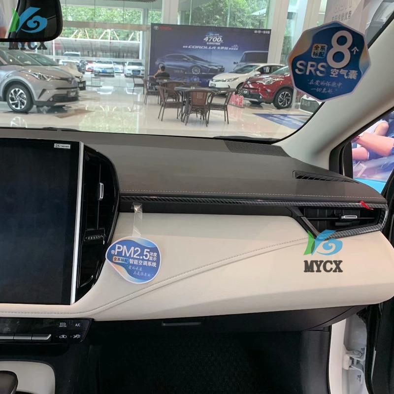 AKDSteel para T-oyota Sedan Corolla E210 Prestige Altis 2019 2020 Coche Volante Decoraci/ón Cubierta Embellecedor Interior Accesorios ABS