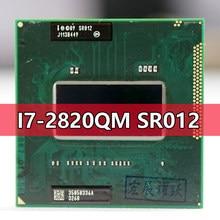 Intel Core I7-2820QM SR012 процессор i7 2820QM ноутбук ЦП гнездо G2 rPGA988B подходит для HM65 75 76 77 чипсет ноутбука