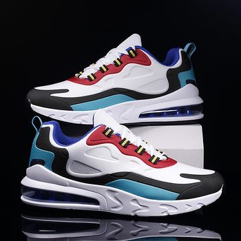 Breathable Lightweight Running Shoes Men Air Cushion Sneakers Max Size 47 Fitness Trainers Sports Shoes Women Outdoor Athletic li ning men s cushion running shoes breathable textile sneakers support tpu lining sports shoes arhm057 xyp478