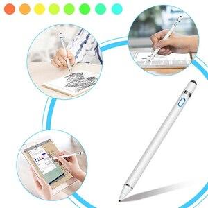 Стилус Карандаш для Apple IPad Android планшет ручка карандаш для рисования 2в1 емкостный экран сенсорная ручка мобильный телефон смарт-ручка аксес...