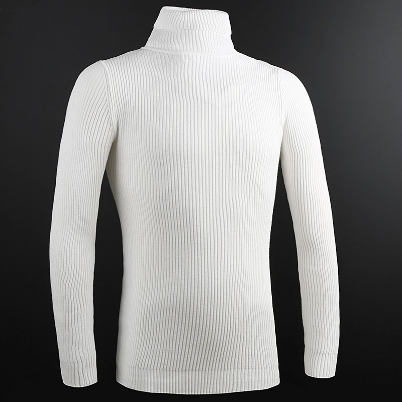 2019 New Fashion Brand Sweater Men Pullover Top Grade Slim Fit Jumpers Knitwear Warm Winter Korean Style Casual Mens Clothes