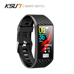 Image 3 - KSUN KSS701 스마트 시계 피트니스 팔찌 MiBand 밴드 3 빅 터치 스크린 OLED 메시지 심박수 시간 Smartband