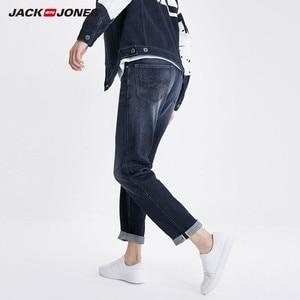 Image 2 - جينز ضيق مطاطي للرجال من JackJones جينز دينم بطراز كلاسيكي على الموضة لعام 219132559