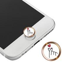 Home-Button-Sticker Keypad Fingerprint Touch Id Identification iPhone iPad Mini 8-Plus