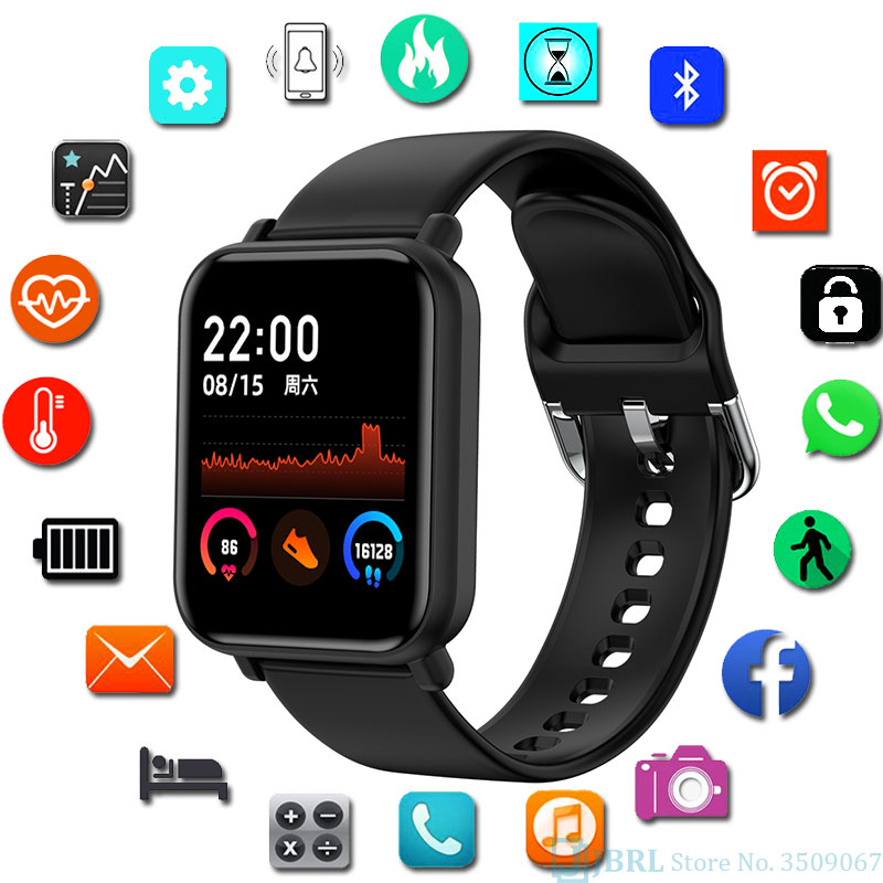 Touch Digital Watch Men Sport Women Watches Electronic LED Male Wrist Watch For Men Women Clock Female Ladies Wristwatch Hours 1