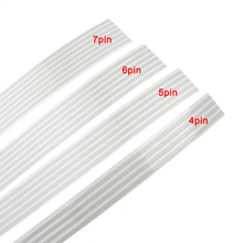 10M/Lot 5pin 1.8mm pitch 0.2mm thickness 10mm width airbag Flexible FFc flat cable