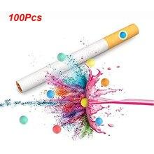 100 Uds cigarrillo Pops cuentas aromáticos de explosión bola del grano del sostenedor de cigarrillo mentolado filtros accesorios para fumar herramienta