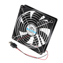 120 Mm Stille Ventilator Usb Powered Cooler Voor Pc Laptop Xbox Tv Ontvanger Av Kast(China)