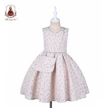 Детское бальное платье yoliyolei принцессы без рукавов с сумочкой