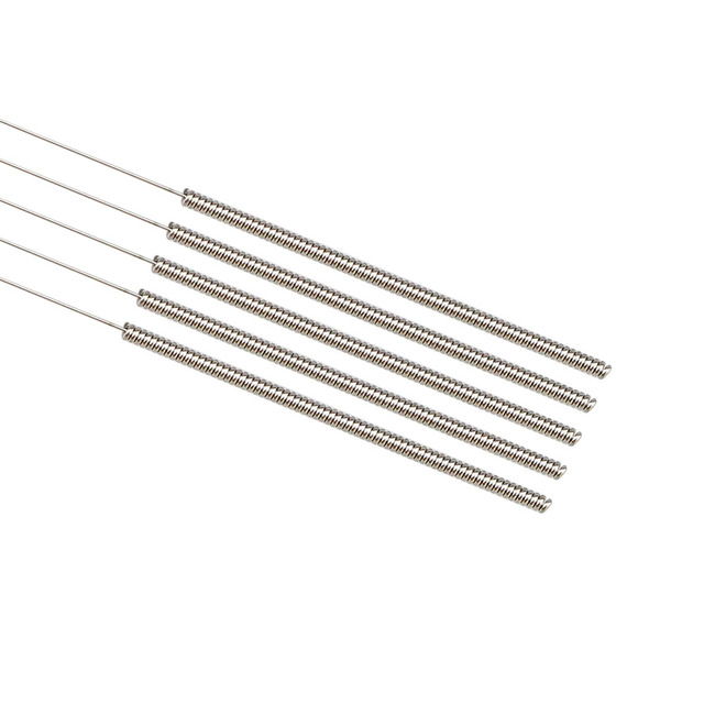 5Pcs Stainless Steel Cleaning Needle 0.15mm 0.2mm 0.25mm 0.3mm 0.35mm 0.4mm Part Drill For V6 Nozzle 3D Printers Parts 6